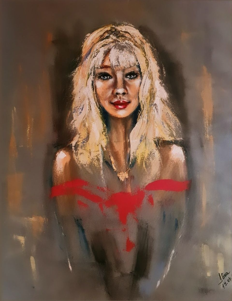 ArteDiAlina.com painting: some like it blonde